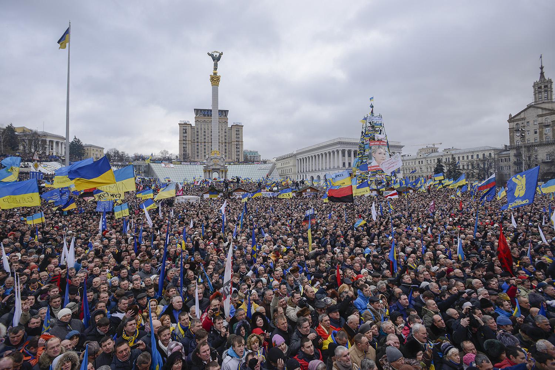 """Інститут """"Республіка"""" під час Євромайдану"""