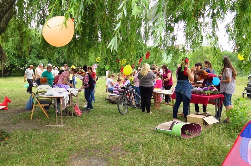 Літні забави на Кірпічці