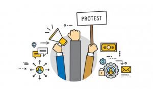 За мирний протест