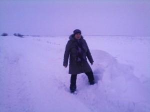 сніг в Інгульському