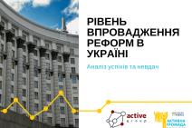Рівень впровадження реформ в Україні