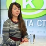 """Олександра Скиба на телеканалі """"Соціальна країна"""""""